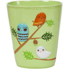 Creative Bath™ Give A Hoot Wastebasket