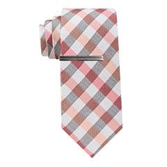 JF J.Ferrar Gingham Tie