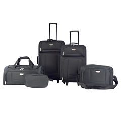 Travelers Club 5 Pc 5-pc. Luggage Set