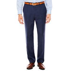 Claiborne Plaid Stretch Slim Fit Suit Pants