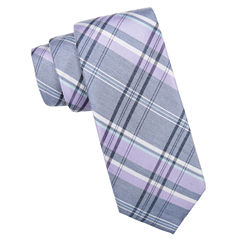 Collection by Michael Strahan  Plaid Tie Extra Long