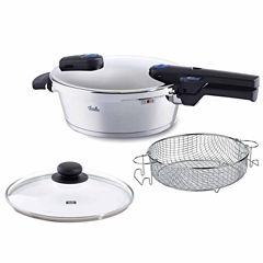 Fissler 4qt Vitaquick Pressure Cooker Set 26cm