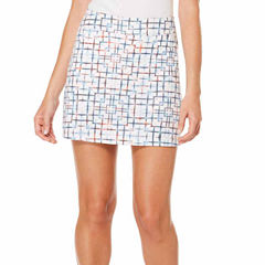 PGA TOUR® Plaid Skorts