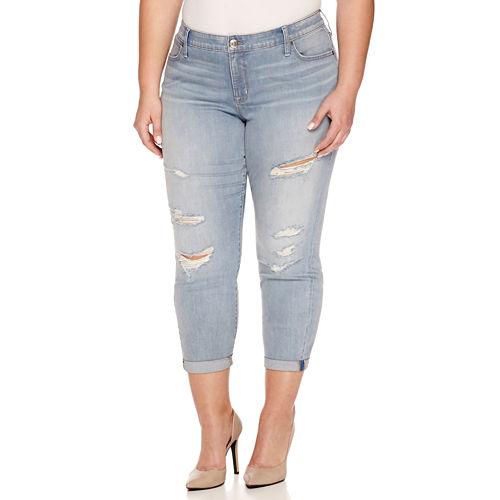 Boutique   Denim 27 Ankle Jeans - Plus