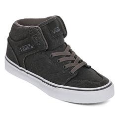 Vans Brooklyn Slip Boys Skate Shoes - Big Kids