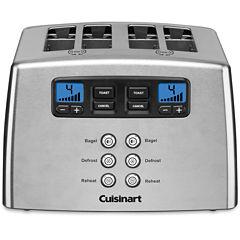 Cuisinart CPT-440 Countdown Leverless 4 Slice Toaster
