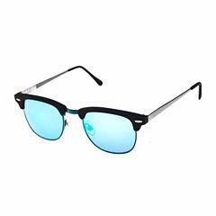 Arizona Half Frame Square UV Protection Sunglasses-Mens