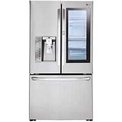 LG ENERGY STAR® 30 cu. ft. InstaView™ Door-in-Door® Refrigerator