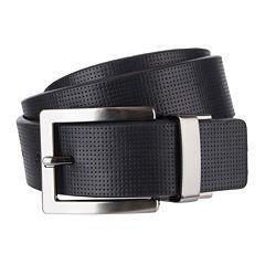 JF. J Ferrar® Cut Edge Reversible Belt - Big & Tall