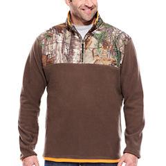 Realtree® Long-Sleeve Microfleece Quarter Zip Shirt