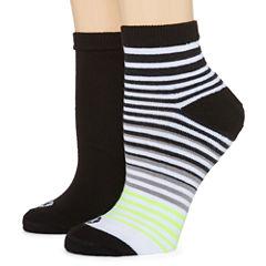 Xersion 2 Pair Quarter Socks - Womens