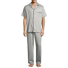 Stafford® Sateen Pajama Set - Big & Tall