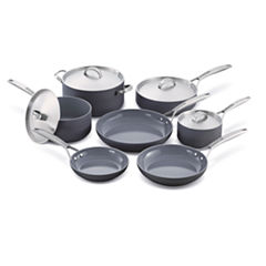 GreenPan Paris Pro 11-pc. Hard Anodized Non-Stick Cookware Set