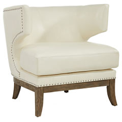 Nailhead Trim Wingback Chair