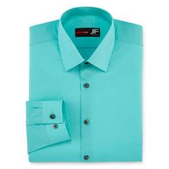 JF J.Ferrar Long Sleeve Woven Dress Shirt - Big