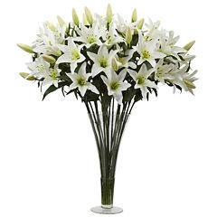 Lily Silk Floral Arrangement