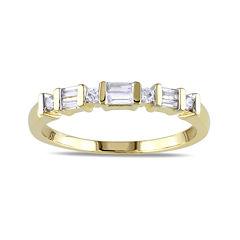 1/5 CT. T.W. Diamond 10K Yellow Gold Anniversary Ring