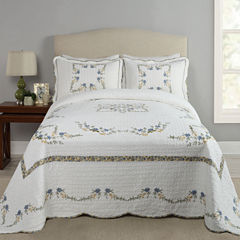 Modern Heirloom Heather Bedspread