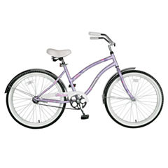 Mantis Malana Single-Speed Girls' Cruiser Bicycle