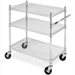 Whitmor Commercial 3-Tier Cart