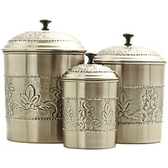 Old Dutch International® 3-pc. Antique Embossed Canister Set