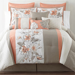 Home Expressions™ Grace 10-pc. Comforter Set & Accessories