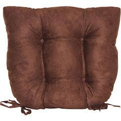 Faux Suede Chair Cushion