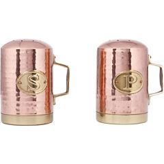 Old Dutch International® Decor Hammered Salt and Pepper Shakers