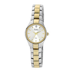 Armitron® Now Womens Two-Tone Stainless Steel Diamond Accent Watch