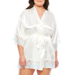 Charmeuse Kimono Robes-Plus