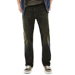 Arizona Basic Relaxed Straight Jeans