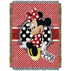Disney Minnie Mouse Tapestry Throw