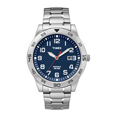 Timex Mens Silver Tone Expansion Watch-Tw2p615009j