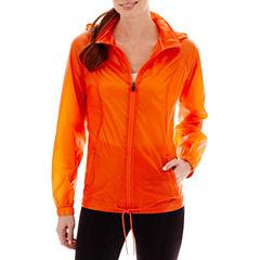Xersion™ Neon Shadow Woven Water-Resistant Jacket