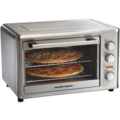 Hamilton Beach® Counter-Top Oven + Convection & Rotisserie