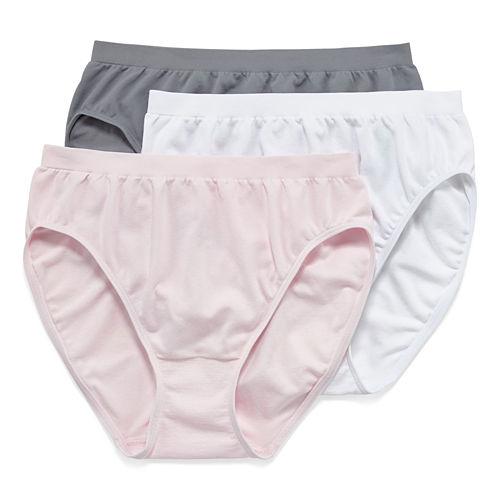 Jockey® Comfies® Microfiber 3-pk. French-Cut Panties - 3326