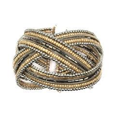 Decree Womens Cuff Bracelet