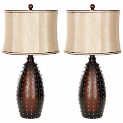 Safavieh Santa Fe Faux Leather Lamp