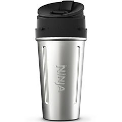 24 oz. Stainless Steel Nutri Ninja® Cup with Sip & Seal® Lid