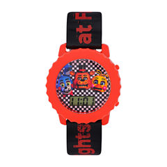 Five Nights At Freddy'S Boys Red Strap Watch-Fnf3030kl