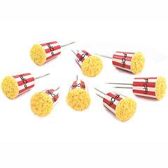 Charcoal Companion Popcorn Set of 4 Corn Holders