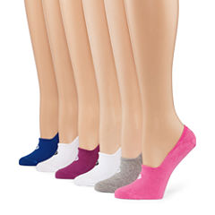 Xersion 6 Pair Liner Socks - Womens