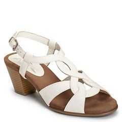A2 by Aerosoles Base Level Womens Heeled Sandals
