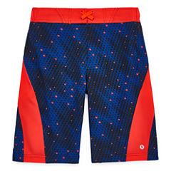 Xersion Boys Pattern Swim Trunks-Big Kid