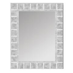 Glass Block Wall Mirror