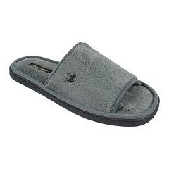 Dockers® Mens Terry Slide Slippers