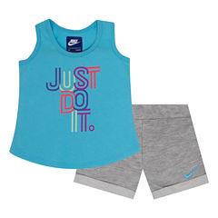 Nike 2-pc. Skirt Set Toddler Girls