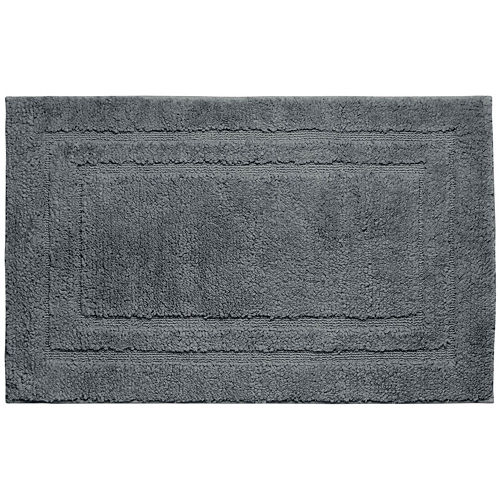 Jean Pierre Double Border Plush Textured Bath Mat Collection