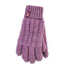 Grabber Heat Holders Ladies Knit Gloves