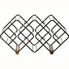 Gourmet Basics by Mikasa® 12-Bottle Stackable Wine Rack